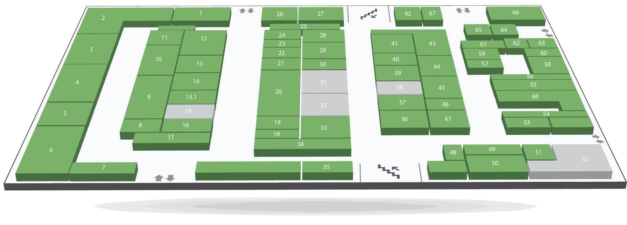 план этажей 1этаж