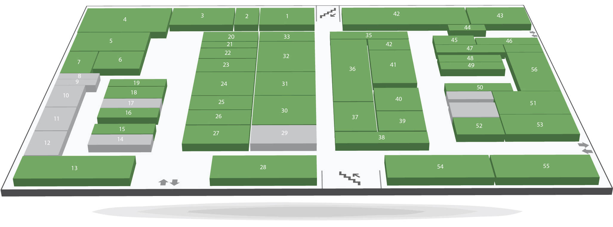 план этажей 2 этаж